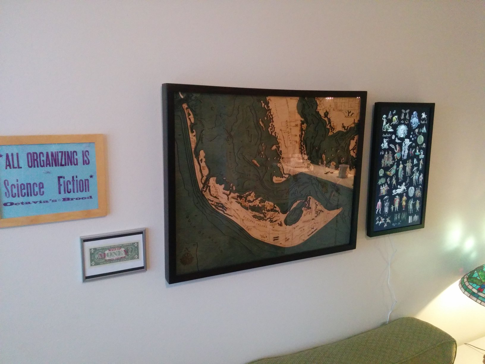 hack your eo1 picture of eo1 in our living room next to framed art